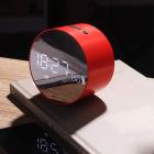 Aкустическая система с Bluetooth JoyRoom JM-R8 Alarm Clock Red (25057) - изображение 3
