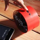 Aкустическая система с Bluetooth JoyRoom JM-R8 Alarm Clock Red (25057) - изображение 4