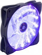 Кулер Frime Iris LED Fan 15LED Purple (FLF-HB120P15) - изображение 1