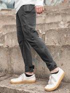 Штани спортивні чоловічі BERSENSE SPIYDER трикотаж темно-сірі, M - изображение 1