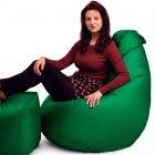 Крісло Мішок Груша Оксфорд 120х85 Студія Комфорту розмір Стандарт зелений - зображення 2
