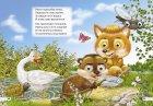 """Комплект із 4 книг-картонок з трьома парами """"оченят"""". Лисичка-сестричка і сірий вовк, Рукавичка, Транспорт, Що їдять звірята? (9789662455854) - изображение 3"""