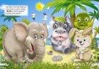 """Комплект із 5 книг-картонок з трьома парами """"оченят"""". Ввічливі слова, Лисичка-сестричка і сірий вовк, Транспорт, Чини тільки добре!, Що їдять звірята? (9786176632818) - изображение 4"""