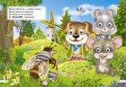 """Комплект із 3 книг-картонок з трьома парами """"оченят"""". Ввічливі слова, Лисичка-сестричка і сірий вовк, Рукавичка (9789664692226) - изображение 4"""
