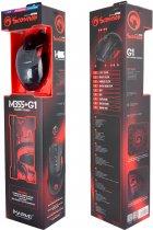 Миша Marvo M355 USB з ігровою поверхнею G1 Black (M355+G1) - зображення 6