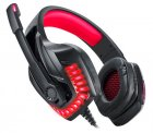 Наушники Real-El GDX-7650 Black-red (EL124100043) - изображение 4