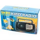Аккумуляторный компактный радиоприемник FM приемник Чёрный Kipo (KB-308AC) - изображение 2