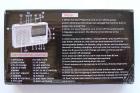 Аккумуляторный портативный радиоприемник FM радио колонка с фонариком и USB выходом Power Bank Черно-золотой Golon (RX-2277) - изображение 5