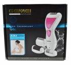 Женский эпилятор 4 в 1 Gemei GM 7006 White аккумуляторный 3 Вт водонепроницаемый + эпиляция бикини бритва триммер и 2 пемзы (45461 IM) - изображение 5