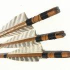 Стрела деревянная ВТ Legend Barred, 30#, 539509 - изображение 3