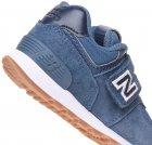 Кроссовки кожаные New Balance 574 IV574PRN 20.5 (5.5) 12 см Синие (194182269550) - изображение 7