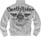 Толстовка Dobermans Aggressive Death Rider BCZ128GY XXL Серая (2550000110394) - изображение 2