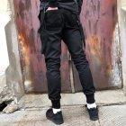 Брюки карго мужские Over Drive Scarstrope черные XL - изображение 5