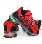 Кроссовки для мальчиков Sport LB019-12-LED 21 12.5см красный - изображение 2