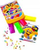 Набор теста для лепки Lovin'Do Ассорти 9 цветов Арома + Ассорти 4 цвета с глиттером 20 г + 4 цвета Неон 20 г (41081) - изображение 5