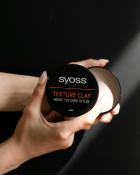 Глина текстурувальна для волосся Syoss Texture Clay Фіксація 5 100 мл (9000101208580) - зображення 2