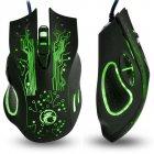 Провідна миша iMICE X9 USB Black - зображення 4