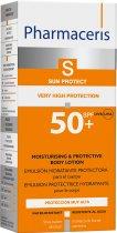 Гидролипидный защитный бальзам для тела Pharmaceris S Sun Body Protect SPF50+ 150 мл (5900717149519) - изображение 2