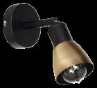 Настінний світильник бра Luminex Gordon Бронзовий (5881) - зображення 1