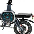 Електровелосипед Zhengbu D8 Matt Series Gray - зображення 7