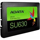 """Накопичувач SSD A-DATA Ultimate SU630 240GB 2.5"""" SATAIII 3D QLC (ASU630SS-240GQ-R) - зображення 2"""