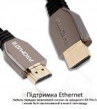 Кабель Promate ProLink8K-300 HDMI 2.1 UltraHD-8K HDR eARC 3 м Black (prolink8K-300.black) - зображення 6