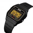 Мужские часы Skmei 1412 Black Gold (1412BOXBKGD) - изображение 2