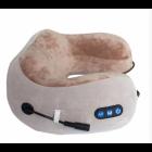 Массажная подушка для шеи U-Shaped Massage Pillow NEW роликовый массажер Бежевая - изображение 2