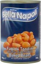 Фасоль запеченная Bella Napoli в томатном соусе 400 г (8005700180054) - изображение 1