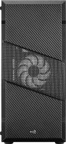 Корпус Aerocool Menace RGB-G-BK-V1 Tempered Glass Black - зображення 4