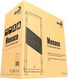 Корпус Aerocool Menace RGB-G-BK-V1 Tempered Glass Black - зображення 12