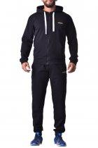 Мужские спортивные штаны зауженные из хлопка с карманами Berserk Sport Premium black P0923B M 2291000000086 - изображение 5