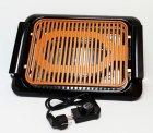 Электрический бездымный противень для гриля Banoo Mix JE-S37 3000 Вт Чёрный (1-01112) - изображение 4