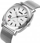 Чоловічий годинник Skmei 1466BOXSSI Silver Steel Belt BOX - зображення 2