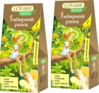 Упаковка чая Lovare Смесь травяного и ягодного с имбирем и цедрой лимона Имбирное утро 2 пачки по 20 пирамидок (2000006781109) - изображение 1