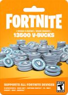 Fortnite: 13500 В-баксів (10000 + 3500 V-BUCKS)   Всі платформи - зображення 1
