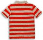 Поло Minoti 1Polost 2 13066 74-80 см Красное с серым (5059030307738) - изображение 2