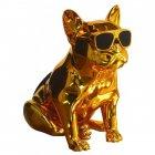 Bluetooth-колонка Aerobull S4 BIG DOG METALLIC c радіо USB , золота - зображення 1