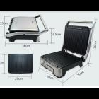 Гриль контактний електричний електрогриль притискної DSP KB-1045 1800W Black - зображення 5