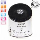 Беспроводная колонка WSTER WS-A9 с поддержкой MP3, USB и FM-pадио Белая (11059) - изображение 3