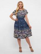 Платье VLAVI Лорен 1189240 50 Акварель Синее (11892400) - изображение 6