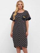 Платье VLAVI Бриджит 115211 56 Синее Цепи (11521156) - изображение 1