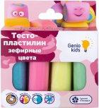 Набор Genio Kids-Art для детской лепки Тесто-пластилин 4 цвета. Зефирные цвета (TA1088) (4814723007392) - изображение 1
