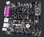 Материнская плата Gigabyte GA-E6010N (AMD E1-6010, SoC, PCI) - изображение 2