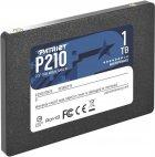 """Накопитель SSD 1TB Patriot P210 2.5"""" SATAIII TLC (P210S1TB25) - изображение 3"""