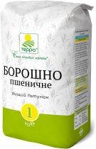 Упаковка муки пшеничной Терра 1 кг х 4 шт (4820015737748) - изображение 2