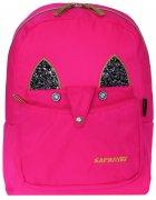 Рюкзак Safari Style 35 x 25 x 15 см 13 л Рожевий (20-179S-1) (8591662201796) - зображення 5