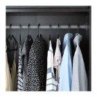 Набор вешалок IKEA SPRUTTIG для одежды 10 шт черный (203.170.79) - изображение 2