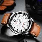Наручний годинник AlexMosh чоловічі Curren Silver-White-Brown (2011) - зображення 2