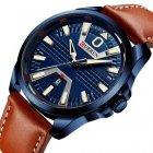 Наручний годинник AlexMosh чоловічі Curren Blue- (1013) - зображення 1